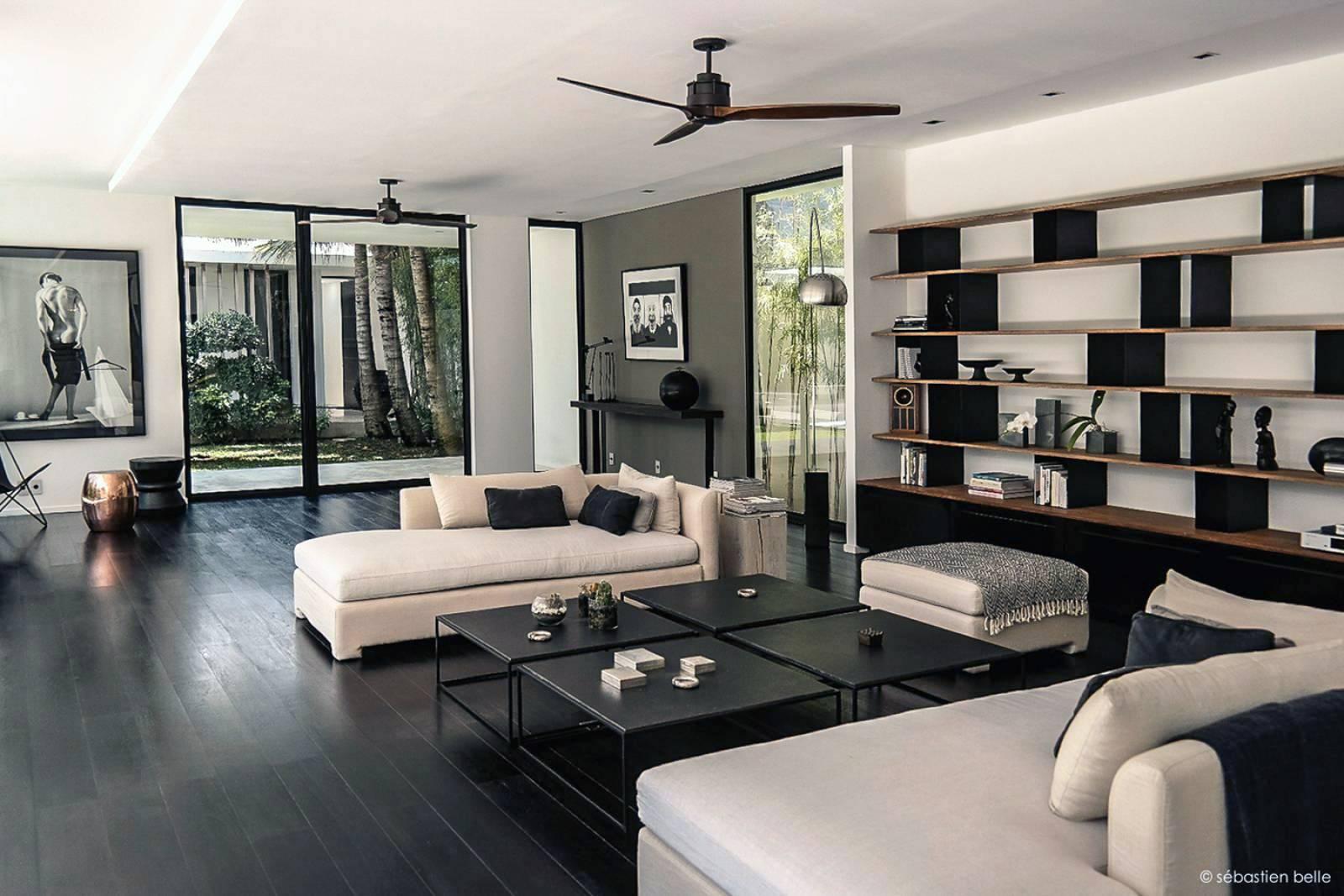 architecture int rieure de la villa contemporaine v bali en indonesie architecte a2 sb. Black Bedroom Furniture Sets. Home Design Ideas