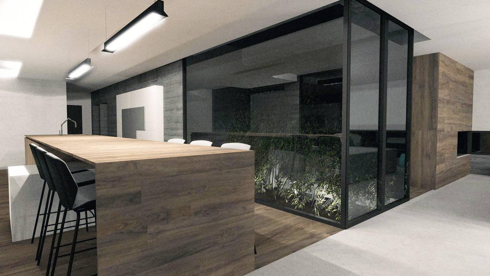 Agencement Interieur De La Maison Contemporaine L A Limonest Dans Le Rhone Architecte Pour Construction Et Renovation D Interieur A Lyon A2 Sb