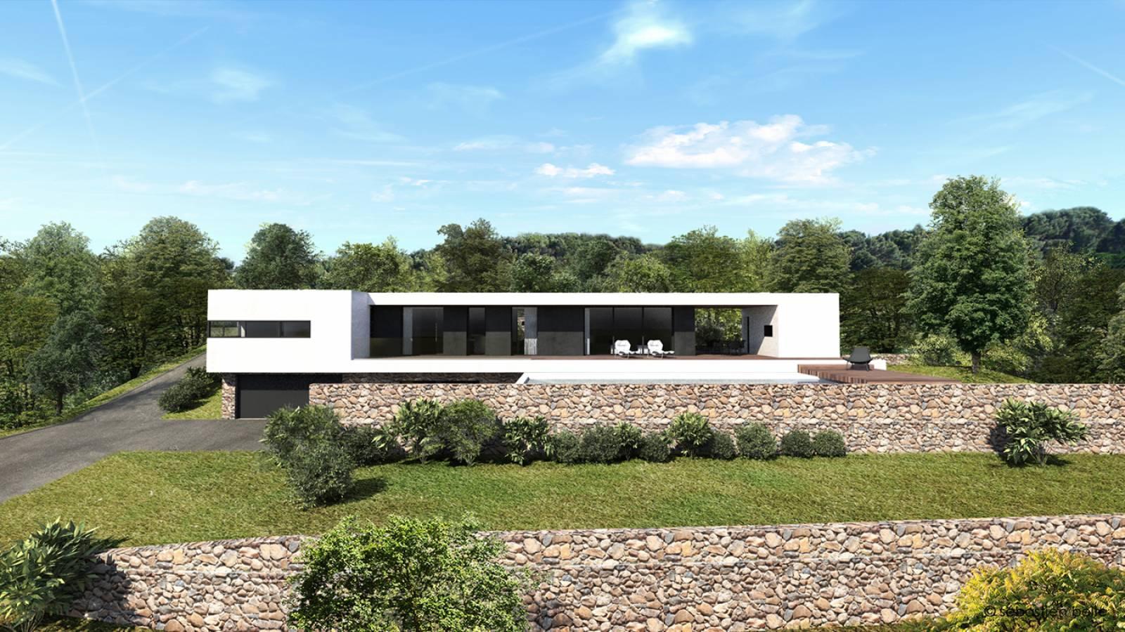 Maison Contemporaine P Aix En Provence Dans Les Bouches Du Rh Ne Architecte A2 Sb