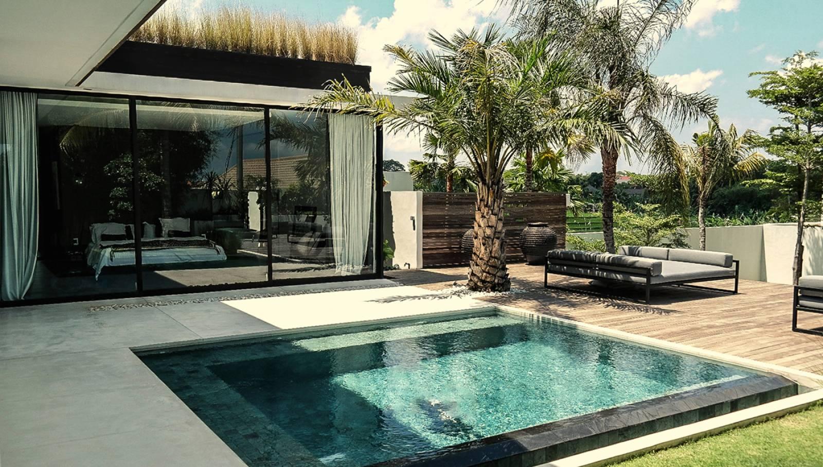 Villa De Luxe Moderne Plan : Villa contemporaine v à bali indonesia architecte a sb