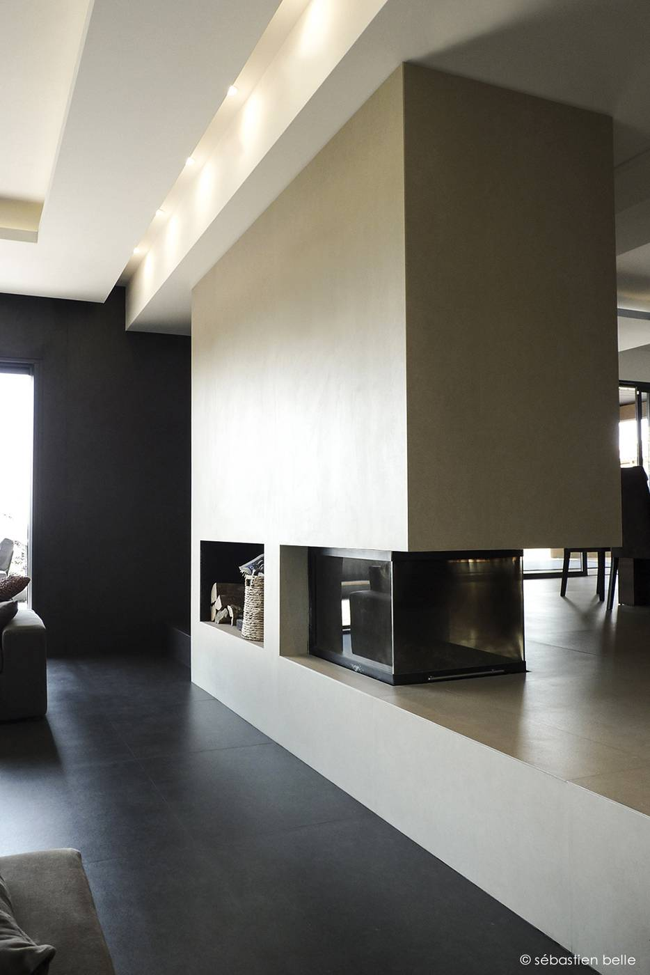 relooking int rieur de la maison f saint cyr au mont d 39 or dans le rh ne architecte a2 sb. Black Bedroom Furniture Sets. Home Design Ideas