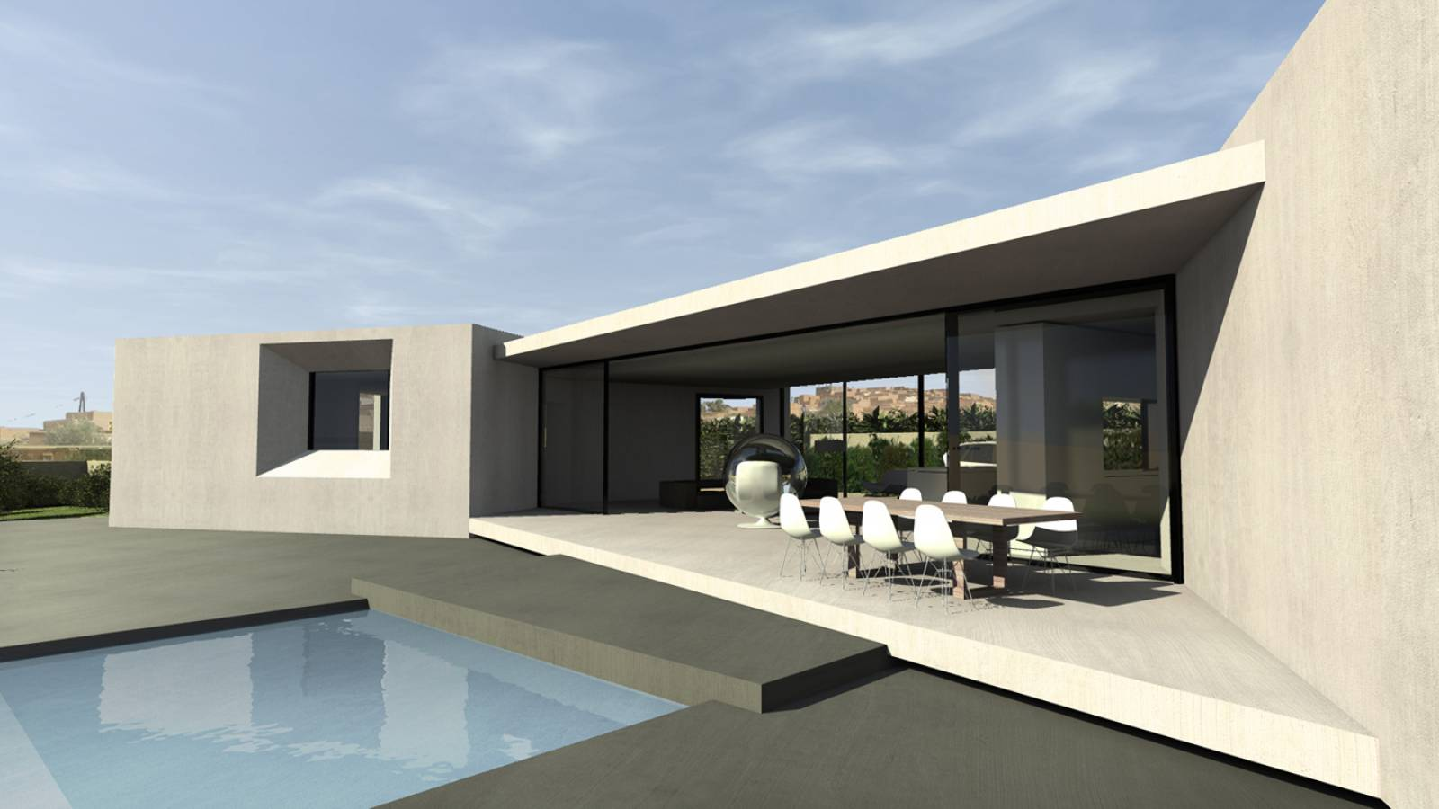 villa d 39 architecte n pr s detigmi au maroc architecte a2 sb. Black Bedroom Furniture Sets. Home Design Ideas