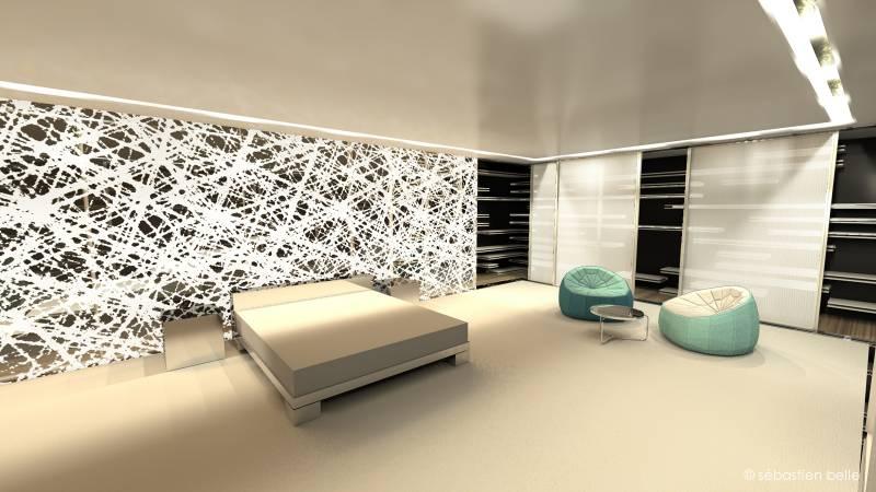Architecte d 39 int rieur pour am nagement de maison lyon a2 sb for Architecture interieure contemporaine