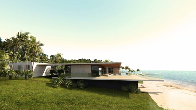 villa luxueuse d'architecte près de Miami