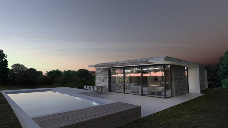 construction maison contemporaine par architectes dans le Pays de Gex