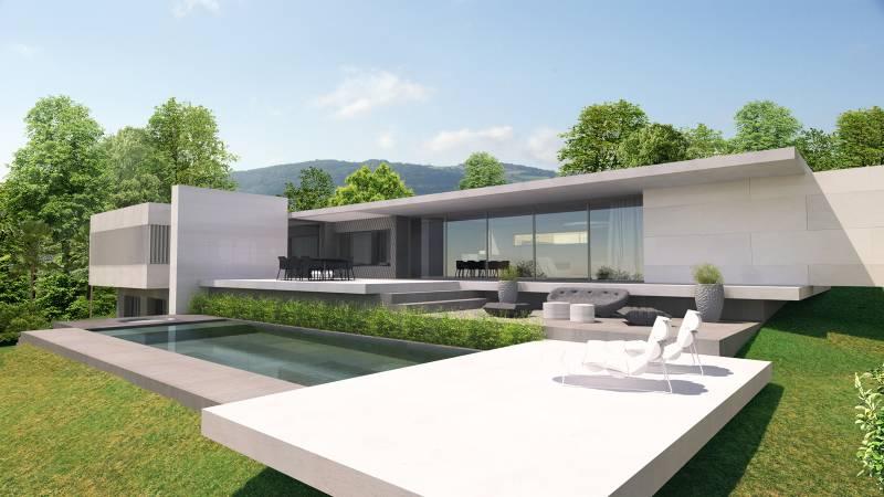 Architecte haut de gamme et architecte d 39 int rieur lyon for Design architecture maison